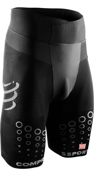Compressport Trail Running V2 Korte hardloopbroek Heren zwart